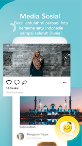 screenshot of Alarm Adzan Otomatis, Media Umat Islam 2019: Toppa version 2.1.0