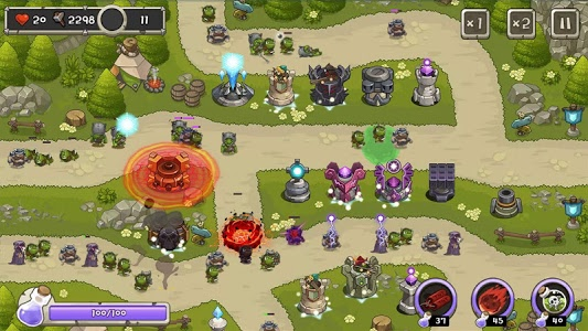 screenshot of Tower Defense King version 1.3.0