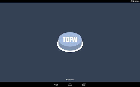 screenshot of Turn Down For What Button version 1.0