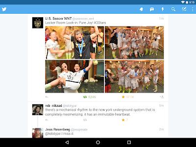 screenshot of Twitter version 5.101.0