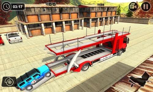 screenshot of Vehicle Transporter Trailer Truck Game version 1.2