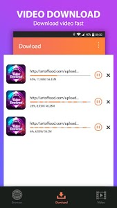 screenshot of Video Downloader version 1.2