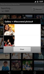 screenshot of Video Recovery Workshop version 3.6