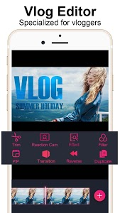 screenshot of Vlog Star for YouTube - free video editor version 2.2.6