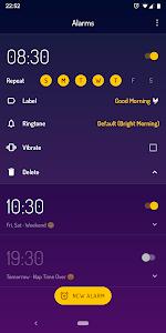 screenshot of Wakey Alarm Clock - Gentle & Simple Alarm Clock version 1.0.2
