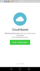screenshot of WhatsUp Messenger version 3.50