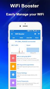 Download WiFi Booster - Internet Speed Test & WiFi Manager 1.0.15 APK