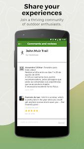 screenshot of Wikiloc Outdoor Navigation GPS version 3.5.1