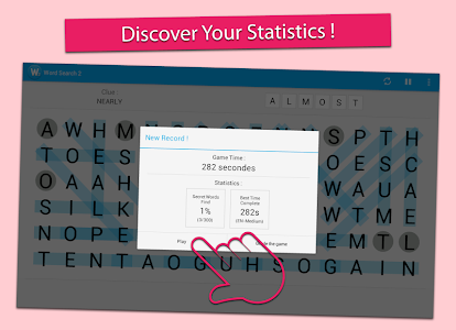 screenshot of Word Search Puzzle Free version 1.2