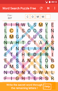screenshot of Word Search Games version 4.0