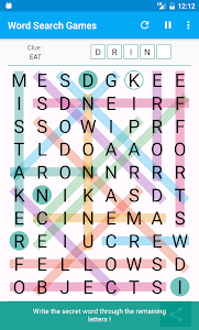 screenshot of Word Search Games version 4.2