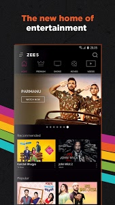 screenshot of ZEE5 - Movies, TV Shows, LIVE TV & Originals version 14.18.4