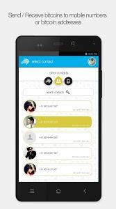 screenshot of Zebpay Bitcoin Wallet India version 1.0.76