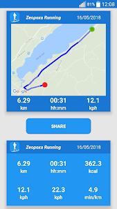screenshot of Running & Jogging version 1.1.34
