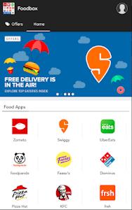 screenshot of All in one food ordering app - Order food online version 1.3.1