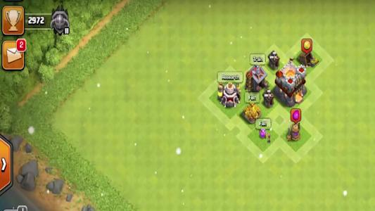 screenshot of battle Clash of war Clans version 1.0.0