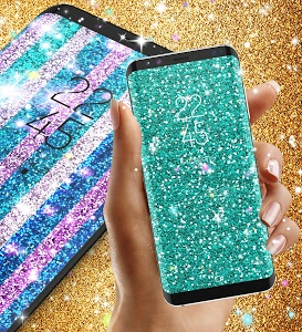 Download Glitter live wallpaper 9.1 APK