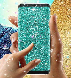 screenshot of Glitter live wallpaper version 8.8