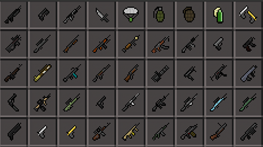 screenshot of guns mod version 2.3.30