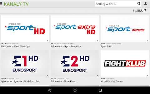 screenshot of ipla version 4.4.2