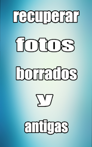 screenshot of recuperar fotos borradas : movil & sd & celular version 1